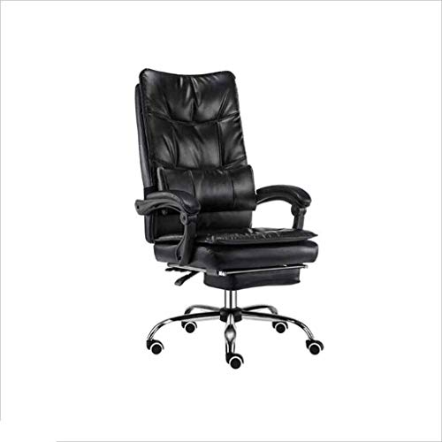 40b99f3270b5 XJRHB Home Office Chair Computer Chair Study Rotating Chair Back Leisure  Bow Chair Desk Chairs (Color : Black)