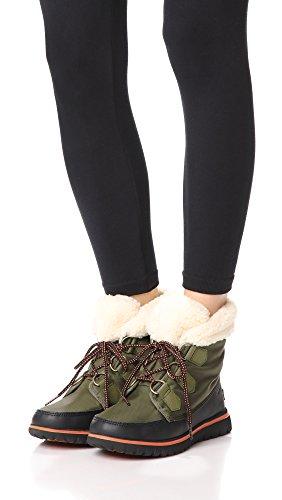 Femme Cozy Sorel Carnival nori Sneakers Hautes Vert black wI7PZnq