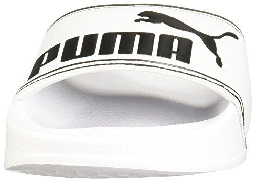 PUMA Men's Leadcat White Black 7 D US lpe8qx2O