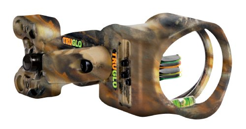 TRUGLO Carbon Xs Sight 4 Pin with Light 19 Sight