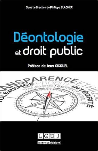Livre gratuits Déontologie et droit public pdf