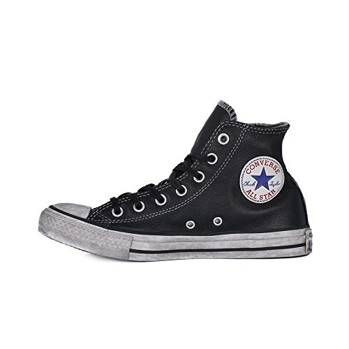 Converse Hi Leather Ltd - 158575c Zwart