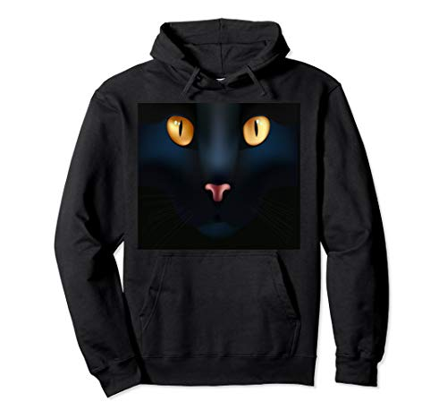 Halloween Costume Shirt GIANT BLACK CAT FACE Gift