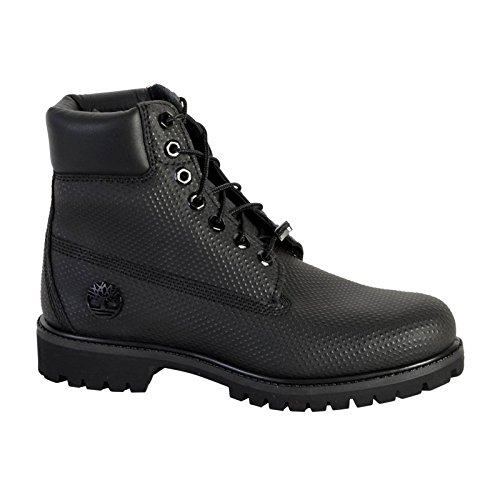 timberland ca1gva mens icon 6 inch premium waterproof boots black helcor leather 10 w us. Black Bedroom Furniture Sets. Home Design Ideas