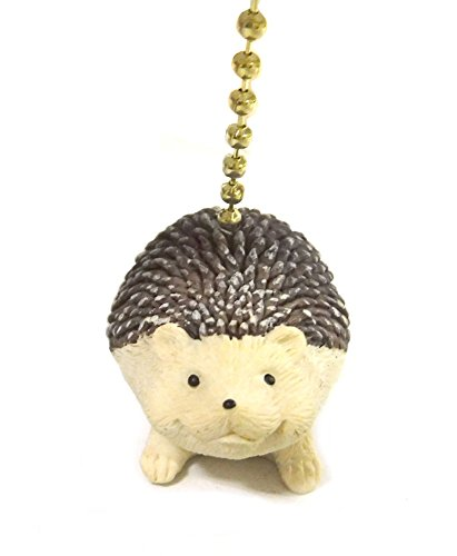 Clementine Designs Hedgehog Decorative Ceiling Fan Light Dimensional Pull
