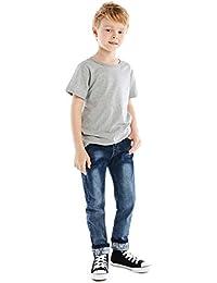 Premium Skinny Boys Jeans Slim Fit Pants Toddlers Kids Teens