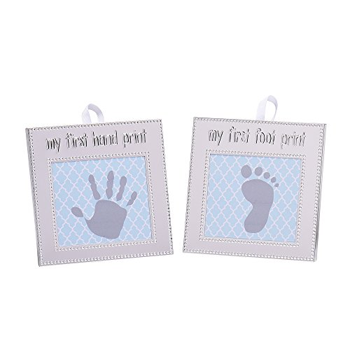 Baby Starters My First Hand and Foot Print Kit, Silver ()