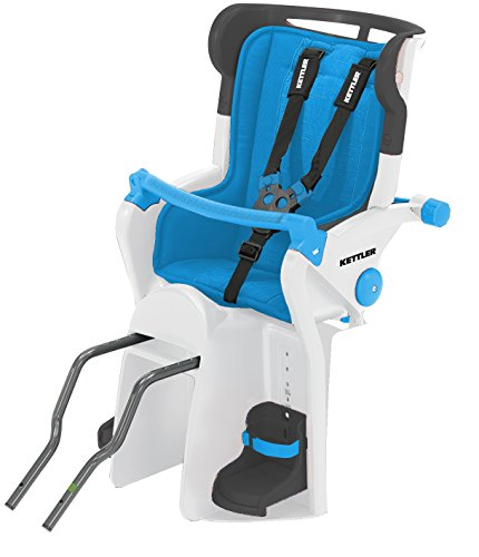 Kettler Flipper Child Bike Seat, Blue by Kettler by Kettler
