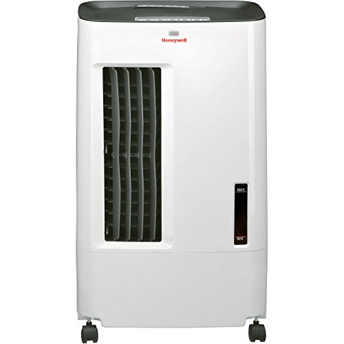 Honeywell Quiet Low Energy, Compact Portable Evaporative Cooler with Fan & Humidifier, Carbon Dust Filter & Remote Control, CS071AE