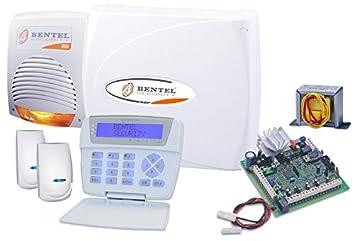 BENTEL Kit kyo8 Completo Central Antirrobo Alarma 8 Zonas ...