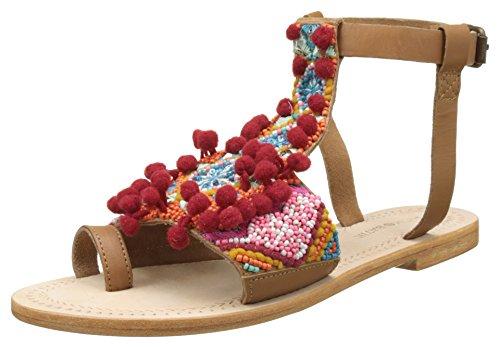 Antik Batik Sunny - Sandalias de dedo Mujer Multicolor (Multico)