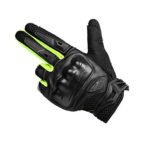 Motorcycle gloves Full finger Knuckle protection Touchscreen cycling outdoor motorbike