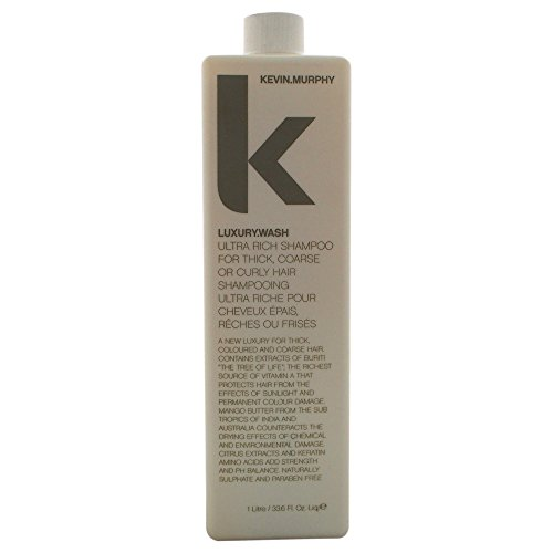Kevin Murphy Luxury Wash Shampoo for Thick, Coarse or Curly Hair, 33.6 Ounce by Kevin Murphy