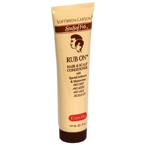 Stay Soft Fro Rub On Hair and Scalp Conditioner Extra Dry 5 oz. - Scalp Spray And Hair