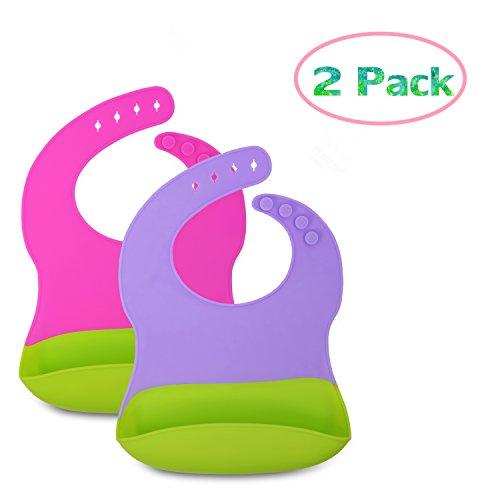 Comfortable Soft Baby Bibs,2 Packs (Bib Soft Baby)