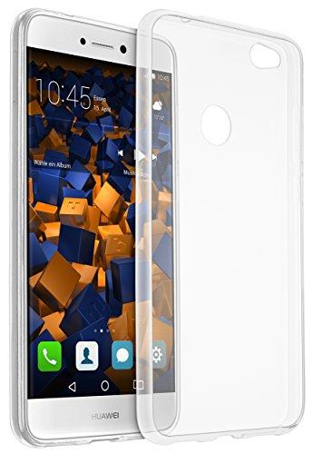 mumbi UltraSlim Hülle für Huawei P8 lite 2017 Schutzhülle transparent (Ultra Slim - 0.70 mm)