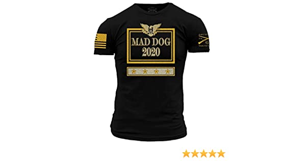 dc9ffee4 Amazon.com: Grunt Style Mad Dog 2020 Men's T-Shirt: Clothing