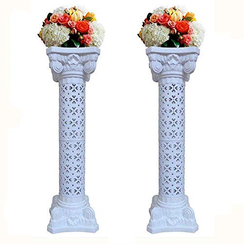 2Pcs Elegant Wedding Roman Column Set Pillars Decoration for sale  Delivered anywhere in USA