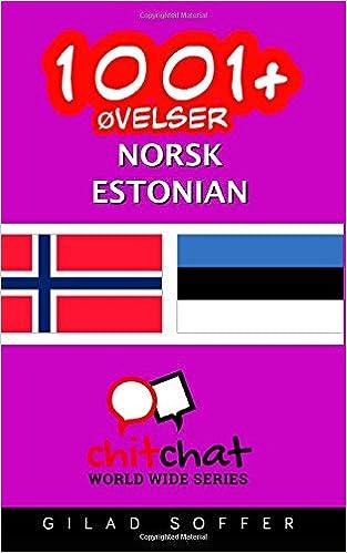 Pdf-kirjojen lataaminen syttyy 1001+ øvelser norsk - estonian (Norwegian Edition) Suomeksi PDF