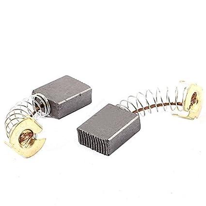 Amazon.com: eDealMax 2 piezas de Motor de carbono eléctrico Cepillos ...