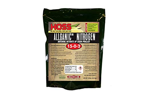 Chilean Nitrate Fertilizer | Organic Nitrogen Source for Vegetables | 10 lb Bag