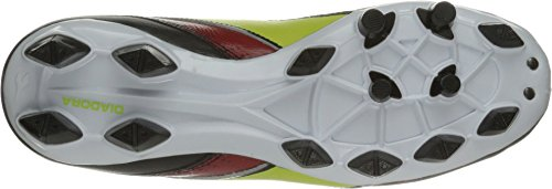 Mago Shoe Diadora Lime Soccer Red W LPU L Women's Black OWPR5PCq