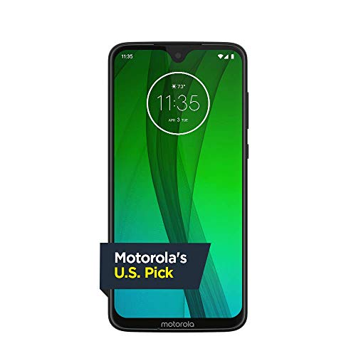 (Moto G7 - Unlocked - 64 GB - Clear White (US Warranty) - Verizon, AT&T, T-Mobile, Sprint, Boost, Cricket, & Metro)
