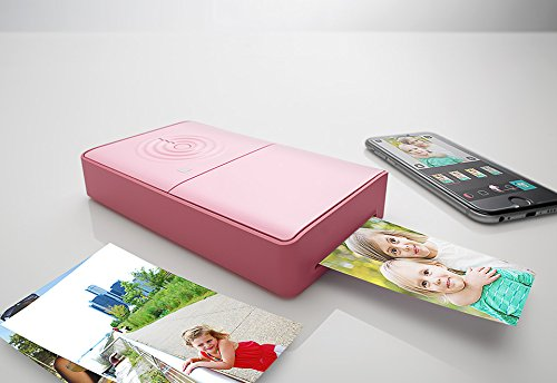 Portable Photo Printer - Pink