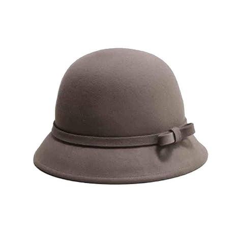 4a5af877de768 Sunny Cloche Sombrero De Fieltro Sombreros Primavera Y Otoño Invierno  Europa Y América Retro Cúpula De