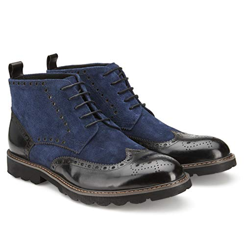 Vintage Foundry Men's The Hauyne Boots Navy -