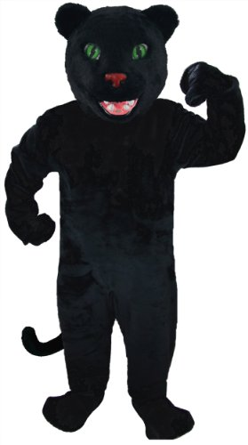Panther Mascot Costume - Thermo-Light Lightweight ()