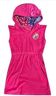 JoJo Siwa Pink Swim Hooded Cover-Up