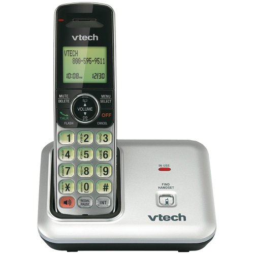 vtech-cs6419-dect-60-expandable-cordless-phone-with-caller-id-call-waiting-silver-with-1-handset
