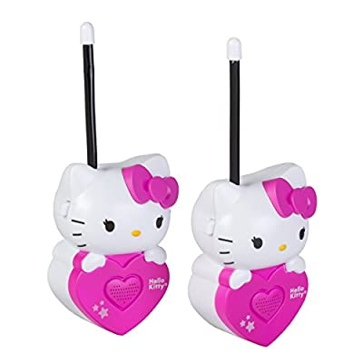 Hello Kitty Walkie Talkies (54009): Toys & Games