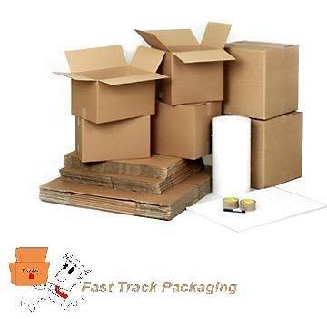 """Nuevo 15 x doble pared cartón casa cajas de cartón (18 """"x12"""""""