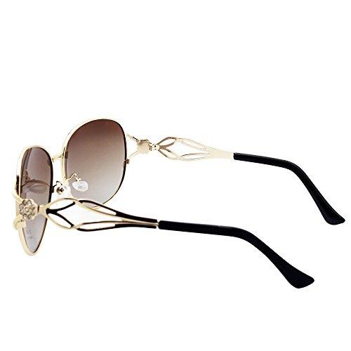 marrón mujer sol para Gafas VeBrellen de 1PwXXY