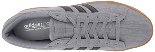 adidas Neo Men's Cloudfoam Super Daily Sneaker, Grey Three/Black/White, 8 Medium US