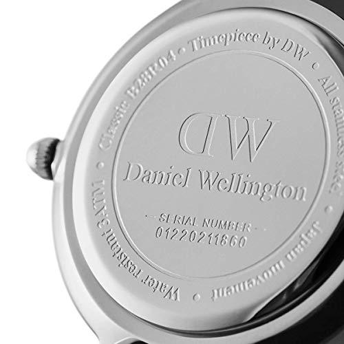 Daniel Wellingon Petite Cornwall Watch, Black NATO Band