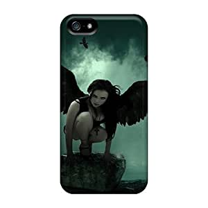 New RAcDFVD22429NPiWO Angel Off Darkness Tpu Cover Case For Iphone 5/5s