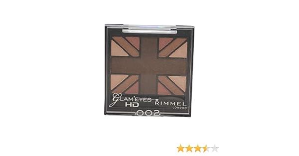 Glam'Eyes HD Quad Eyeshadow Palette - English Oak by Rimmel #16