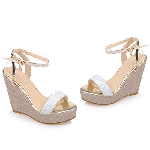 Platform White Heel Women Sandals Coolcept Wedge Pwz4ACqS