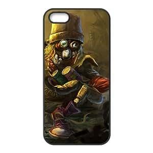iPhone 4 4s Phone Case Cover Black League of Legends Junkyard Trundle EUA15986606 Plastic DIY Phone Case