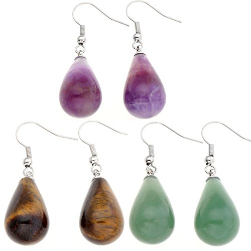Top Plaza Teardrop Waterdrop Amethyst