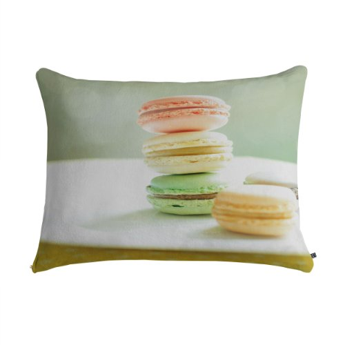 Deny Designs Happee Monkee Hmmm Macaroons Pet Bed, 50 by 40-Inch by DENY Designs
