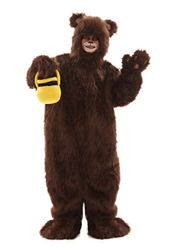 Child Deluxe Furry Brown Bear Costume - S