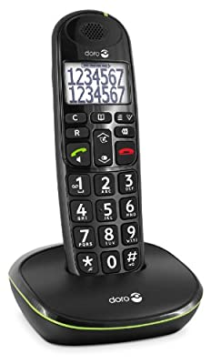 T�l�phone fixe DORO PHONEEASY 110 NOIR SOLO SANS REPONDEUR