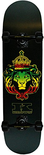 Krown Judah Lion Pro Complete Skateboard, 7.75 x 31.5