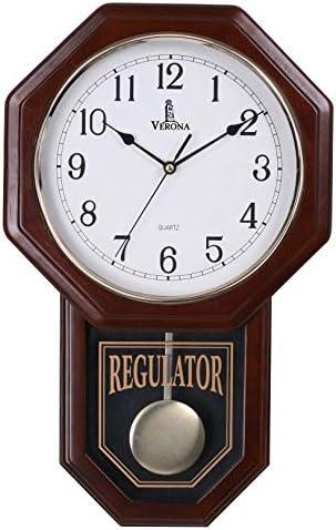 Pendulum Decorative Swinging Schoolhouse Regulator