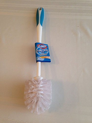 Clorox Toilet Bowl Brush Comfort Grip with Handle (Pack o...