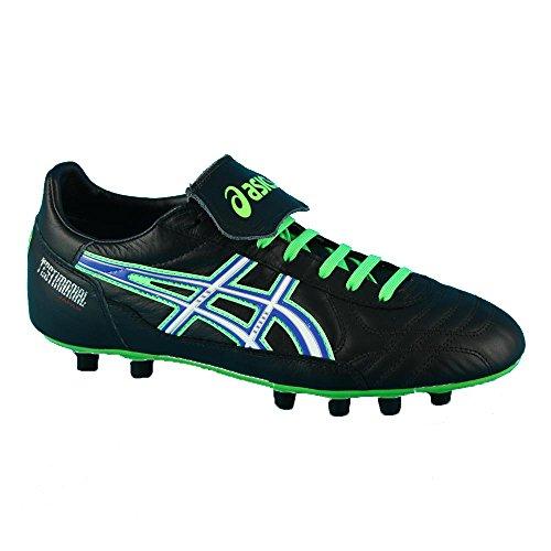 Asics - Botas de fútbol para hombre Black - Green - Royal - Nero
